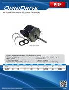48 Frame Unit Heater & Exhaust Fan Motors