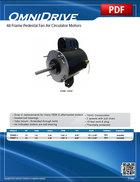 48 Frame Pedestal Fan Air Circulator Motors