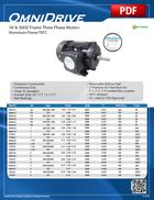56 & 56HZ Frame (Aluminum Frame TEFC)