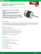 SelecTech® Constant Torque EC Motors